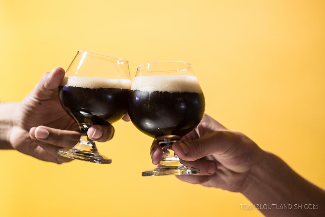 Peruvian Beer - Mala Suerte Black IPA