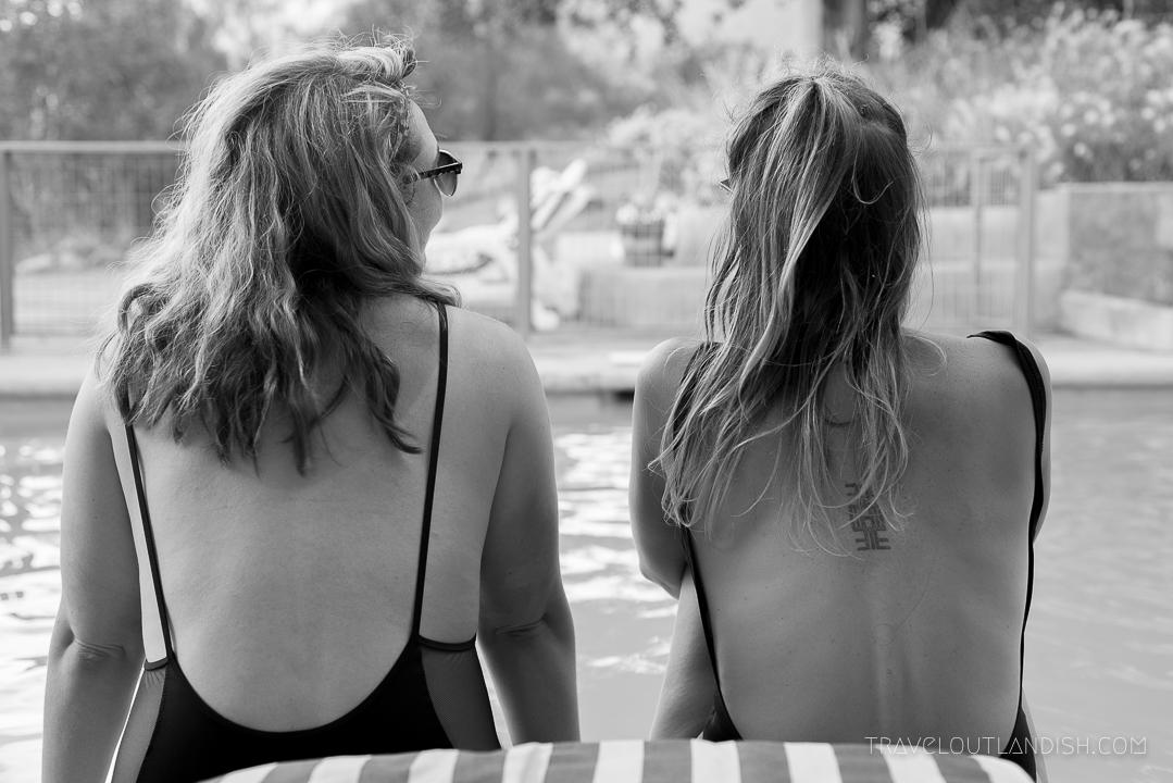 Elqui Domos - Taylor + Ally Poolside