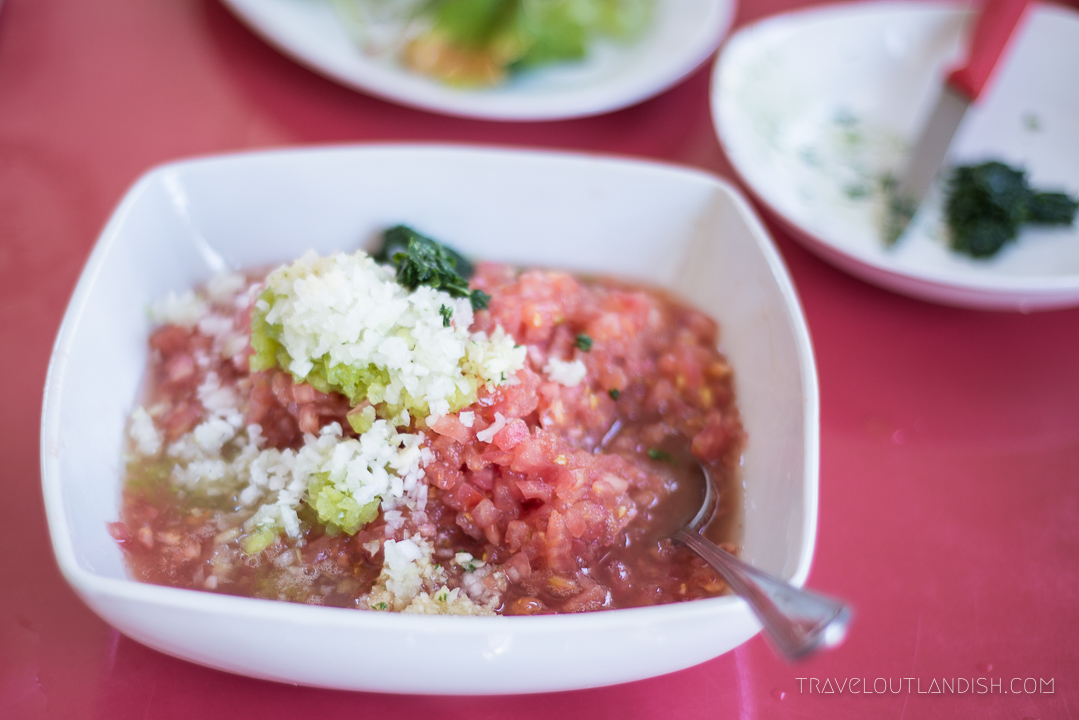 Chilean Cuisine - Pebre