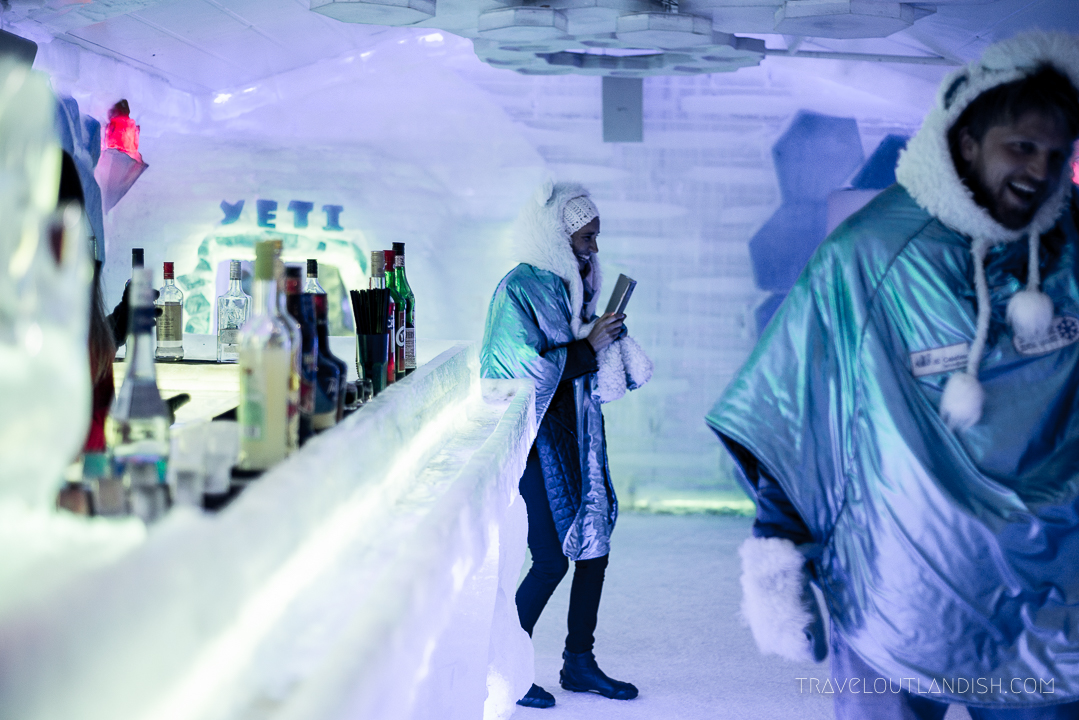 Ice Bar Argentina - The Room