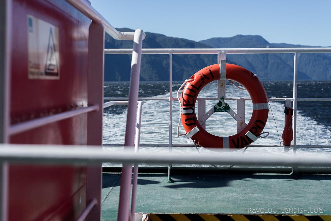 Naviera Austral Ferry - Views