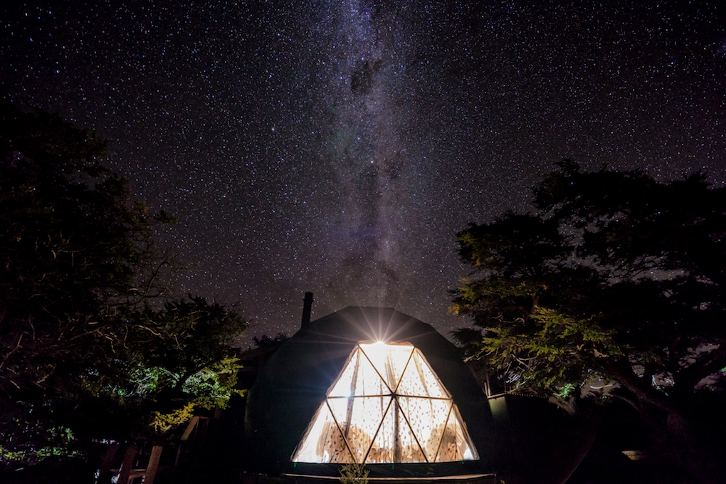Unusual Hotels in South America - Ecocamp in Torres del Paine