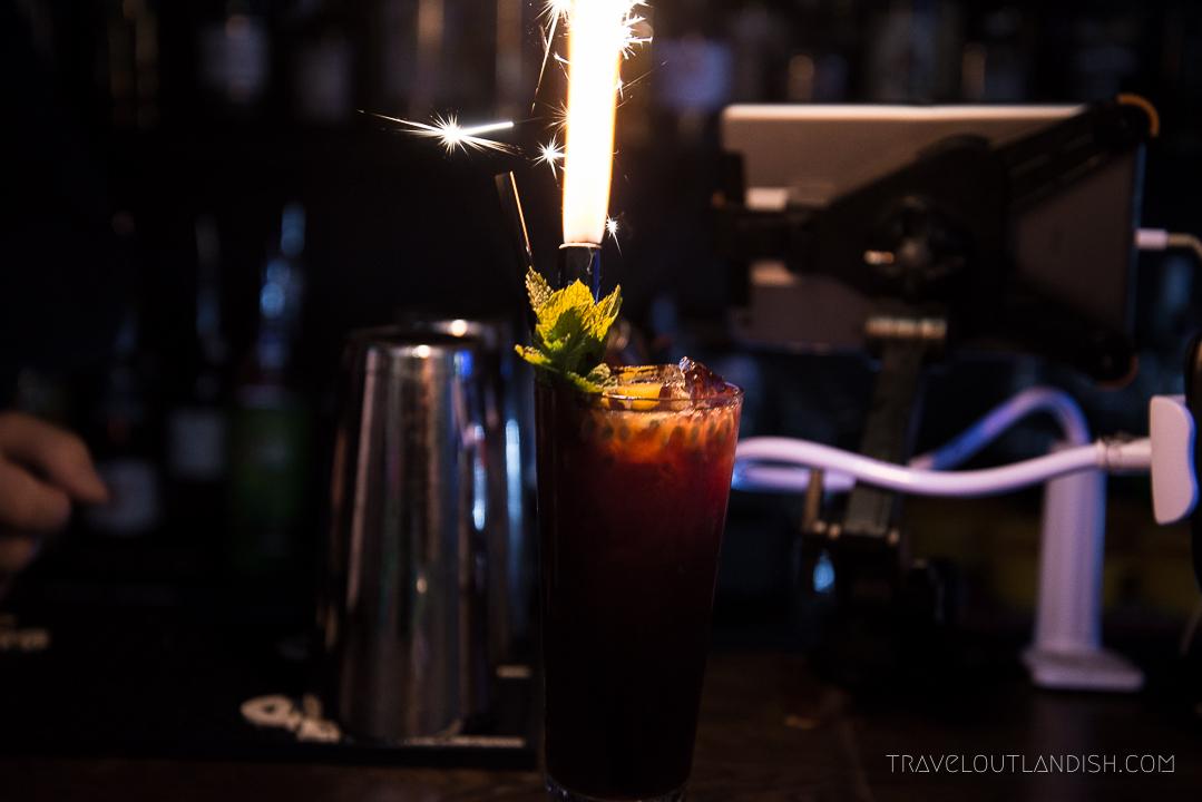 Ball Pit Bar - Jupiter Cocktail at Ballie Ballerson