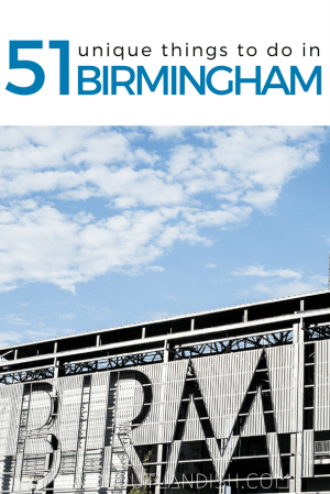 Planning a trip to Birmingham, Alabama? From civil rights museums to craft beer bars, here are the best weird and fun things to do in Birmingham.