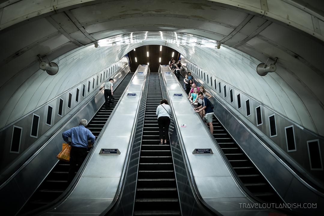 How to Use the London Underground - Escalators