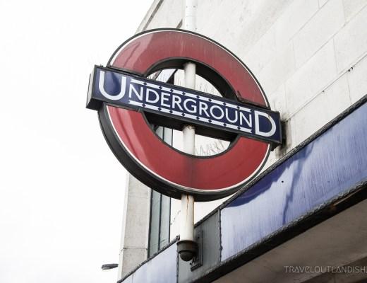 How to Use the London Underground - Underground Sign