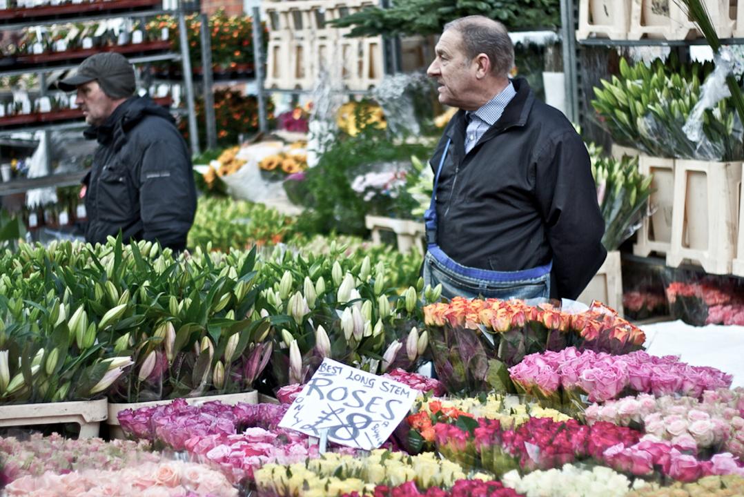Best London Markets - Colombia Road Flower Market
