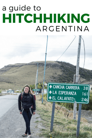 Looking to hitchhike in Argentina? Stories from the road and tips on how to get a ride, hitchhiking safety, and best travel routes!