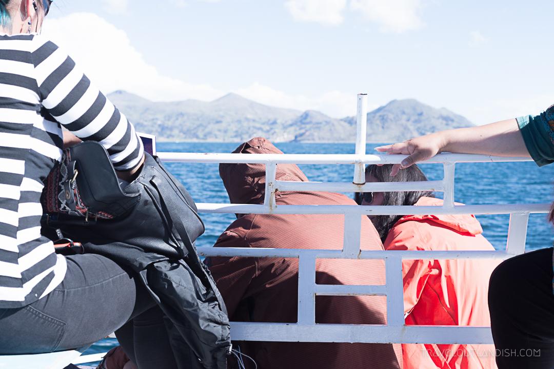 Bolivia - Boat from Copacabana to Isla del Sol