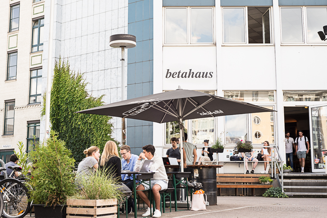 Moving to Berlin - betahaus Coworking Space Berlin