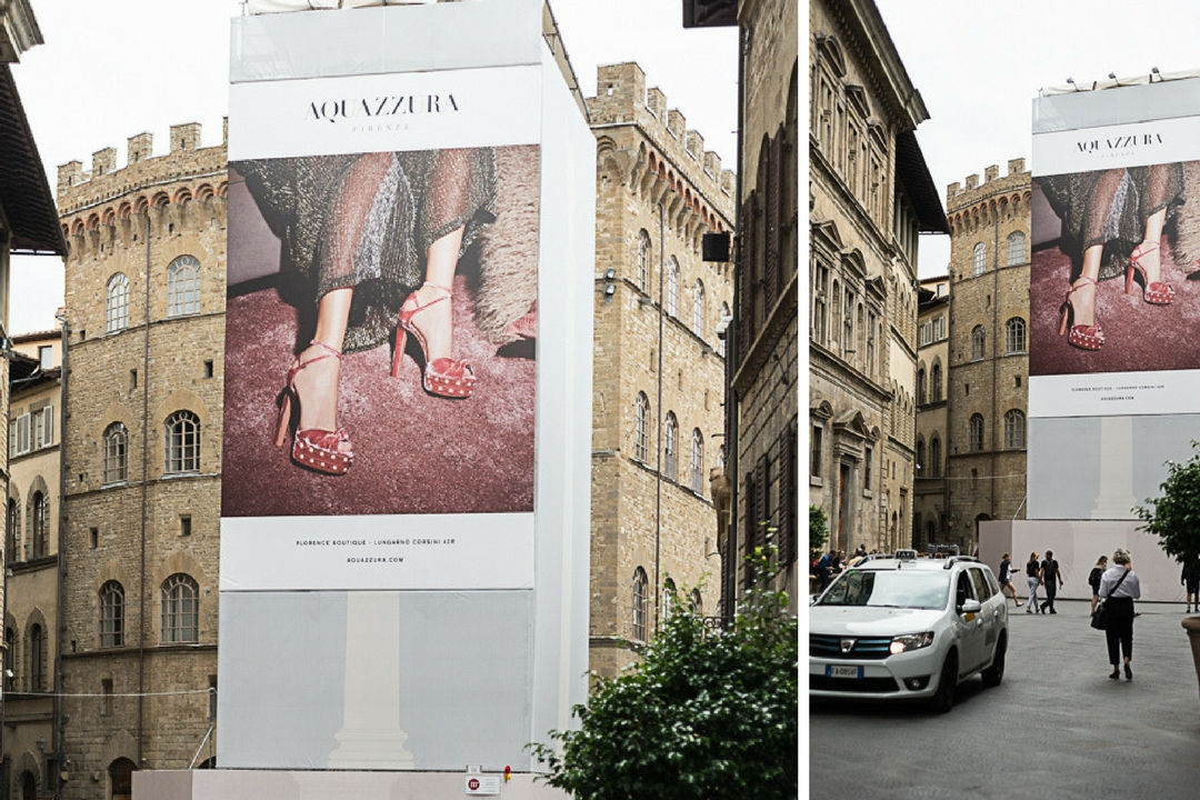 Secret Florence - Billboards in Florence