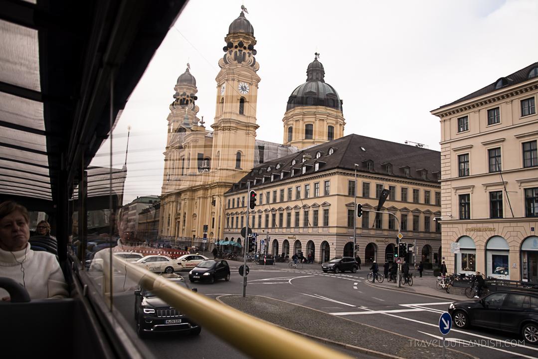 Munich Sightseeing Bus - Architecture