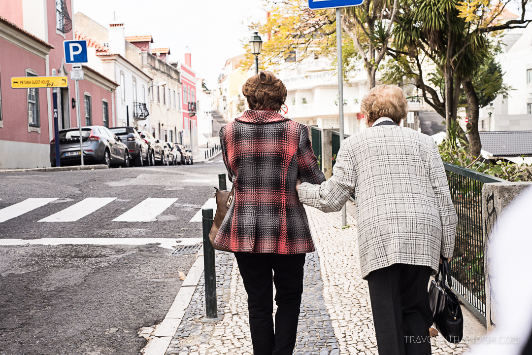Street Photography in Cascais - Friends