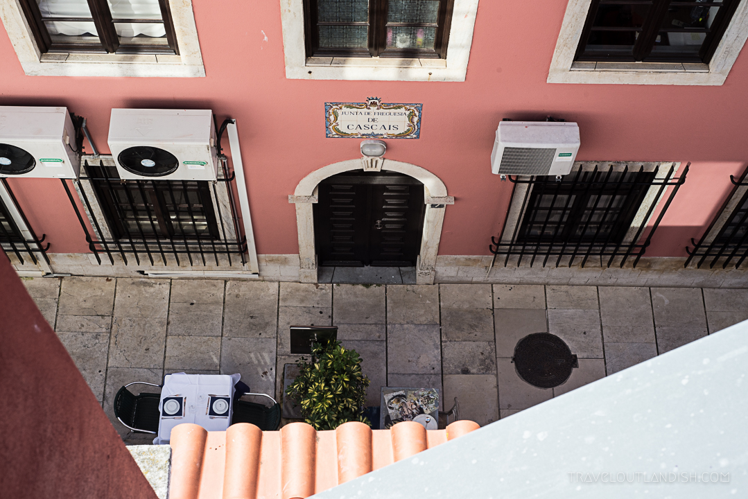 Street Photography - Looking Down at Cascais