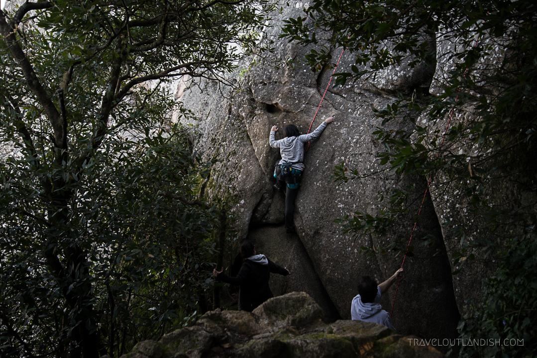 Rock Climbing in Portugal