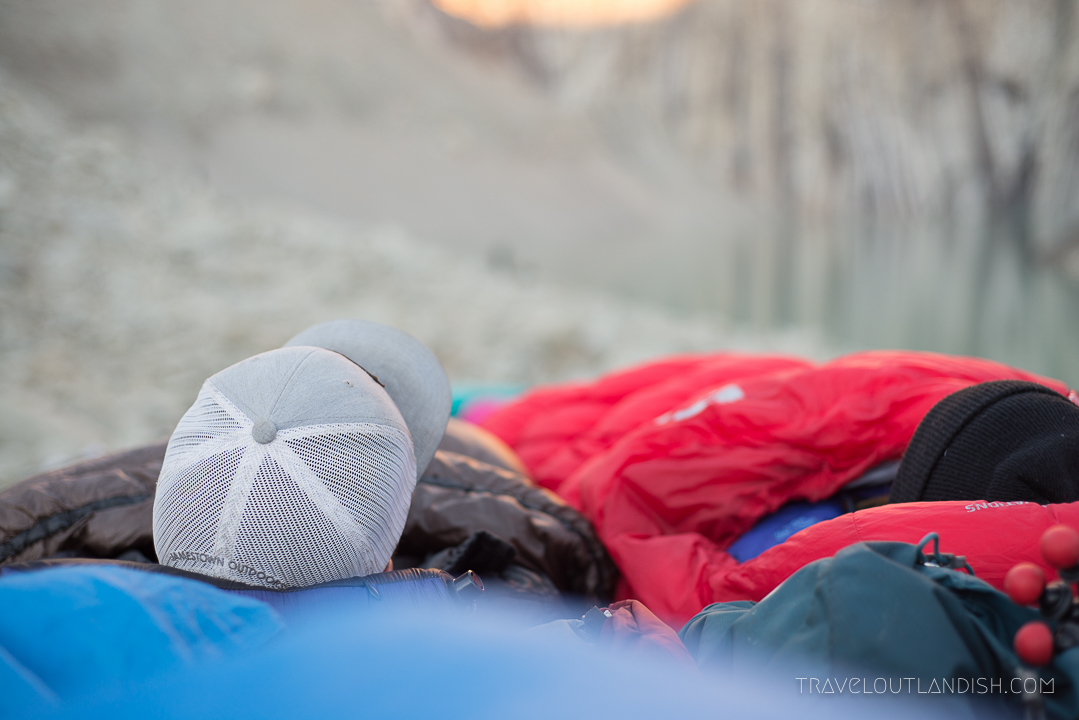 Photos from Torres del Paine - Sleeping Bags