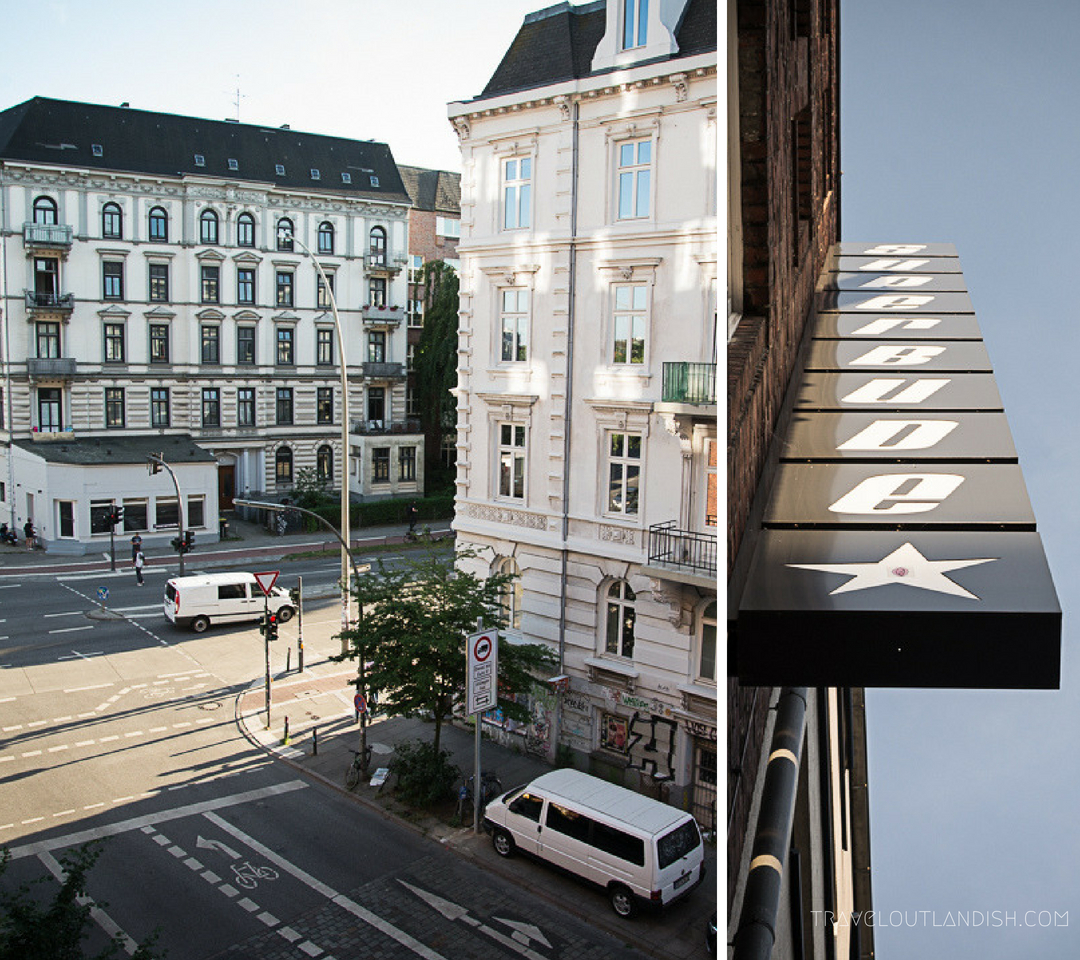 Hostels in Hamburg - View from the Window at Superbude St. Pauli
