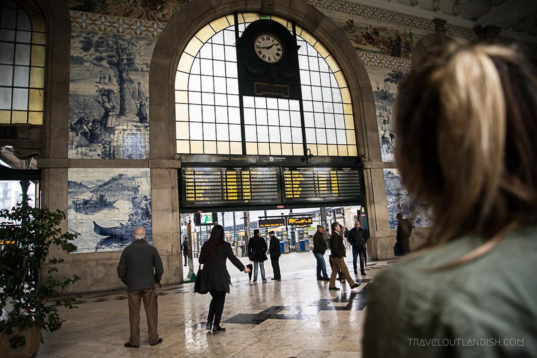 Fun Things to do in Porto - São Bento Railway Station