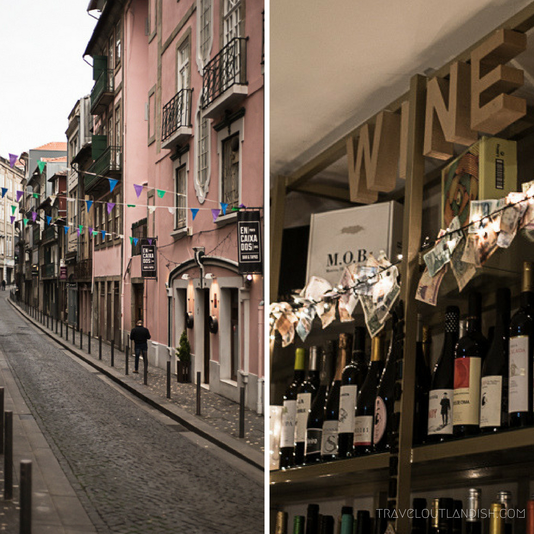 Drinking Port Wine at an outdoor café is one of the best things to do in Porto