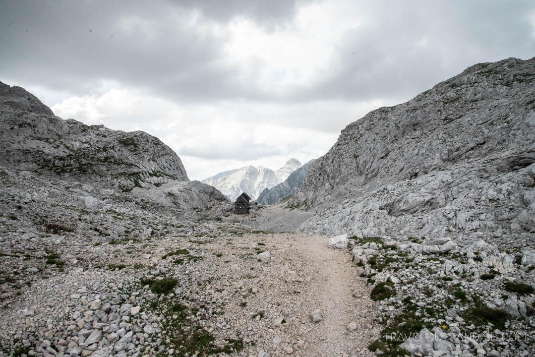 Dolic Mountain Hut in Slovenia