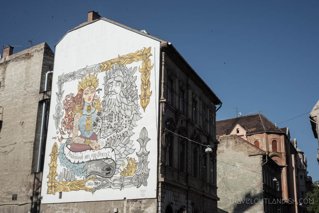 Unusual Things to do in Budapest - Street Art in Budapest