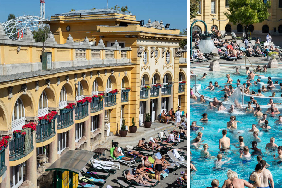 Unusual Things to do in Budapest - Szechenyi Thermal Baths