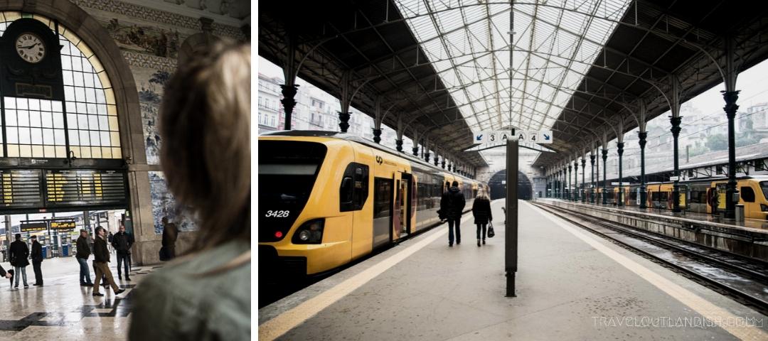 Photos of Portugal - São Bento Railway Station