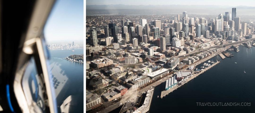 Seaplane Seattle - View of Seattle Skyline