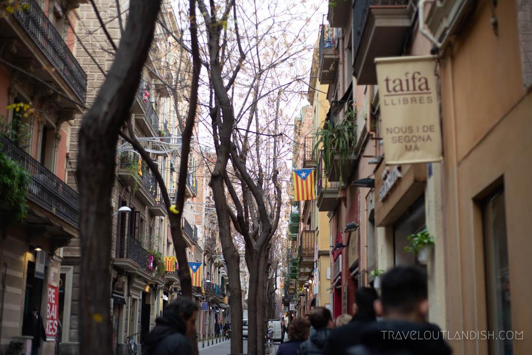 Barcelona Street Food - Gracía