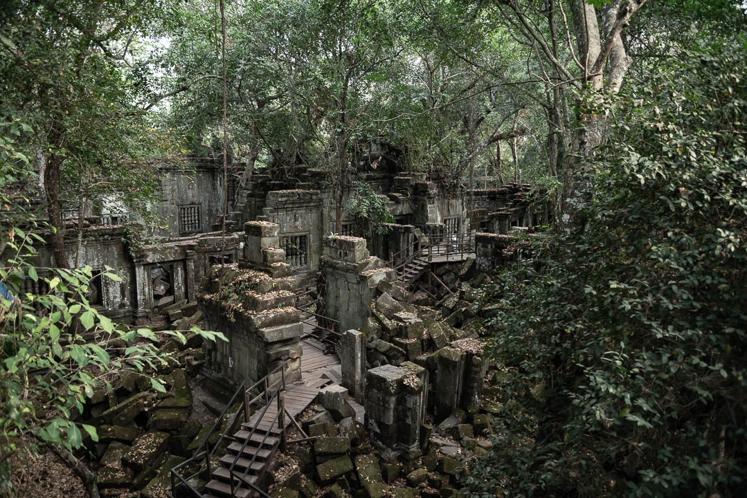 Alternative to Angkor Wat - Beng Mealea