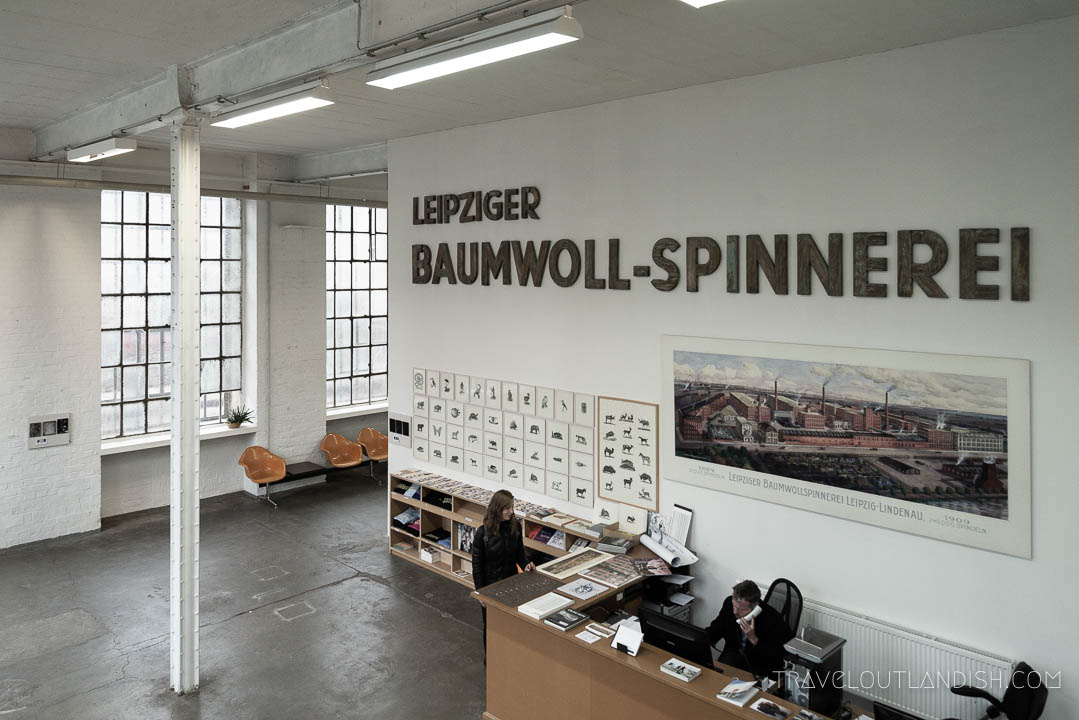 The Museum at the Leipzig Spinnerei