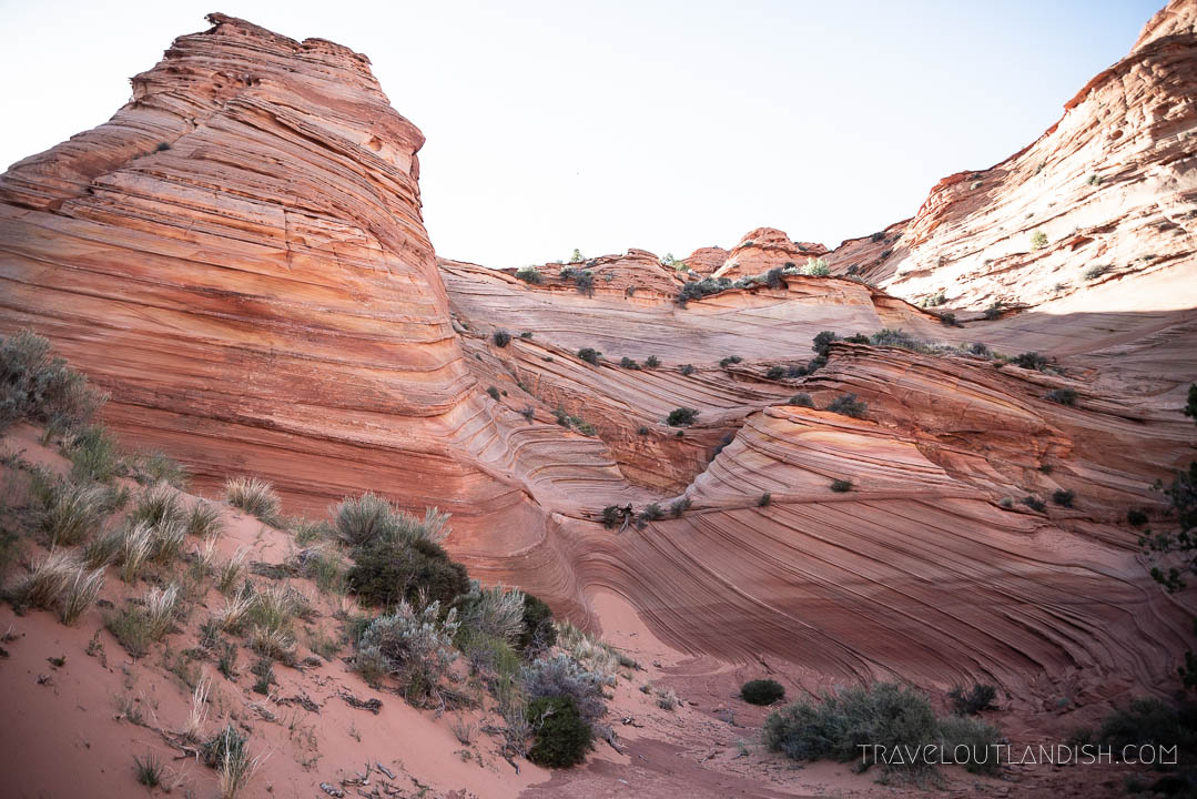 Paw Hole Area of Coyote Buttes South - Alternative to the Wave