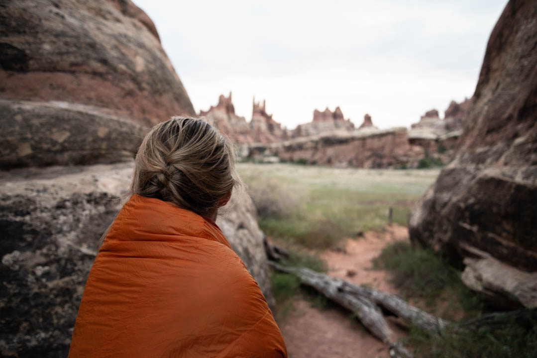 Zenbivy Light Quilt in Canyonlands