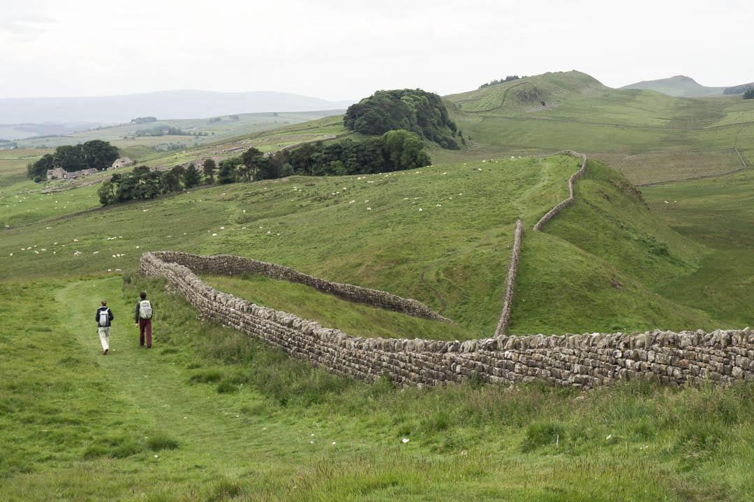 Hadrians Wall in England