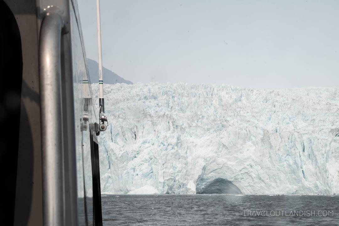 Aialik Glacier in Kenai Fjords