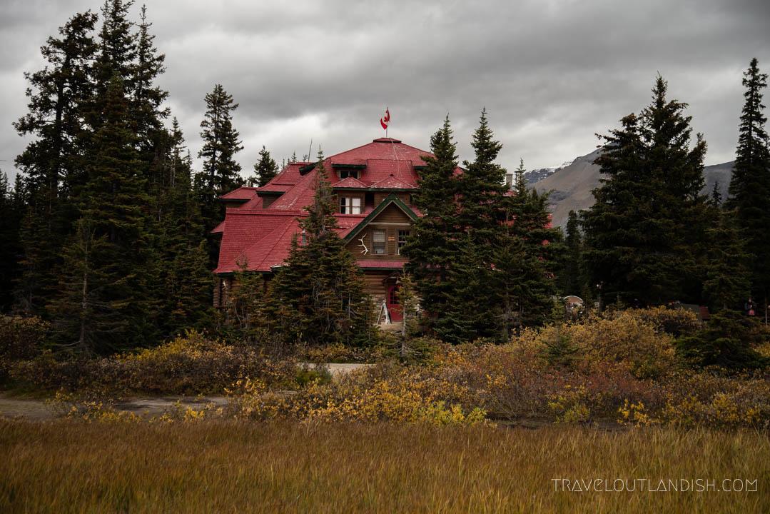 Simpson's Num-Ti-Jah Lodge in Banff