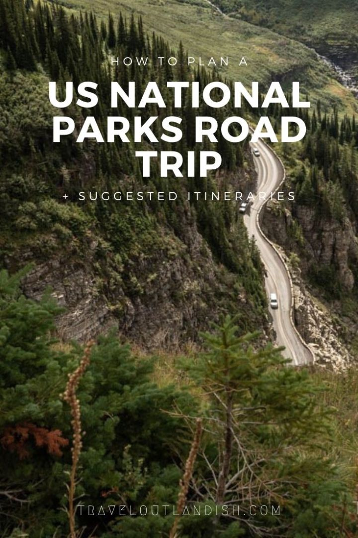 Rock Road Trip The Ultimate Collection: How To Plan A US National Parks Road Trip + Itineraries