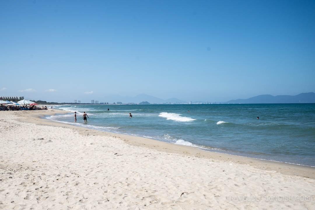 An Bang Beach outside of Hoi An