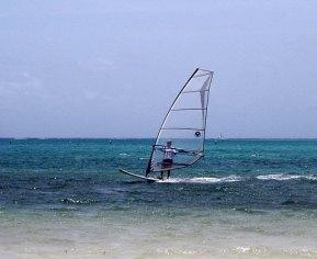 Windsurfer, Virgin Gorda