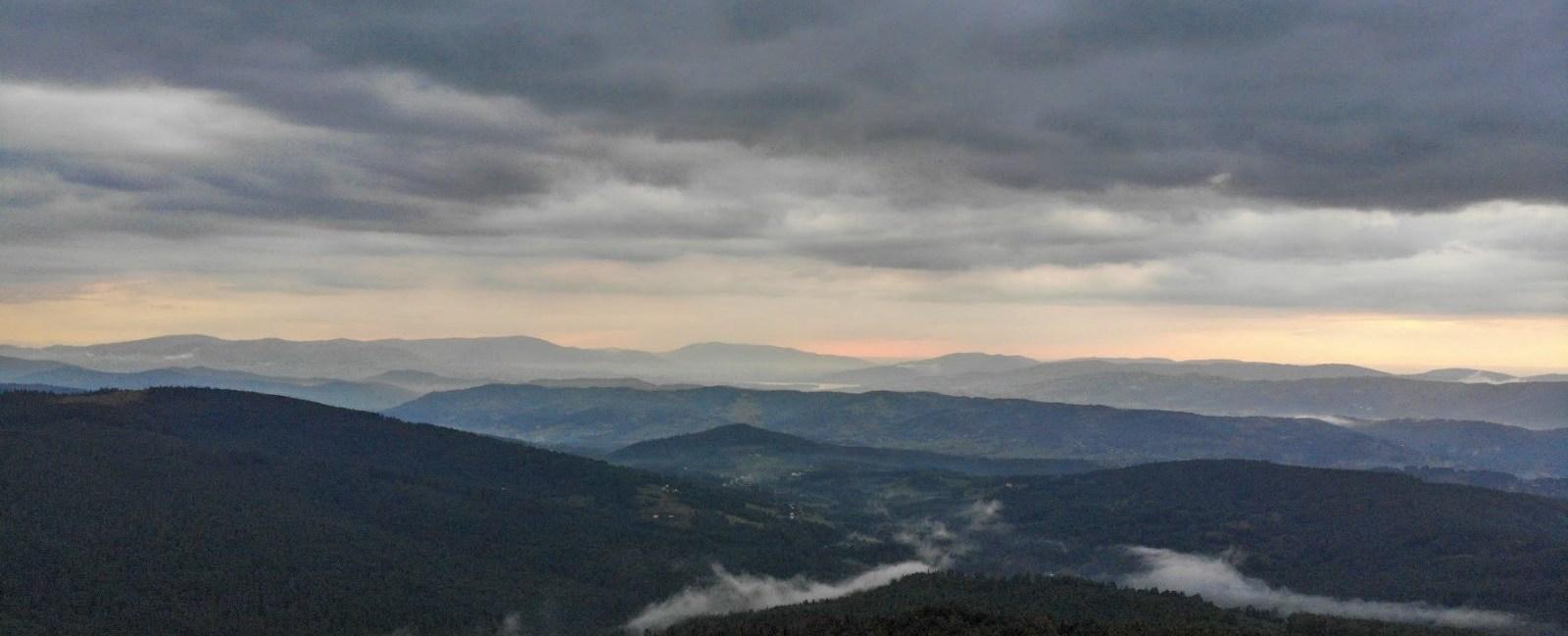 Jałowiec góra, Beskid Makowski