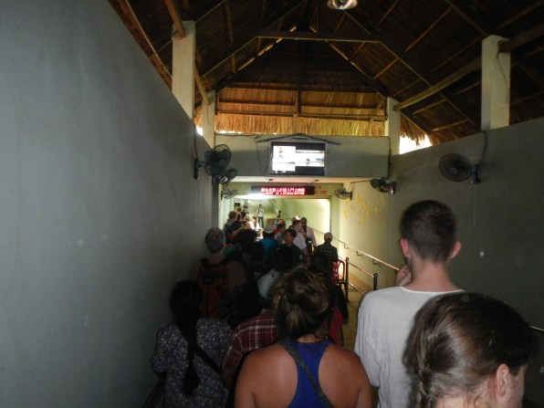 Gerbang masuk ke area Cu Chi Tunnel
