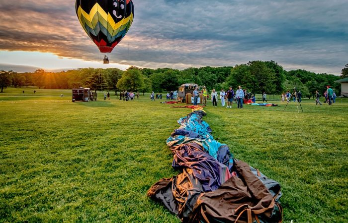 Preakness Hot Air Balloon © John Soule