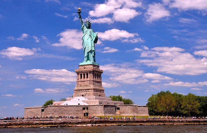 Statue of Liberty - NYC © Len Rapoport