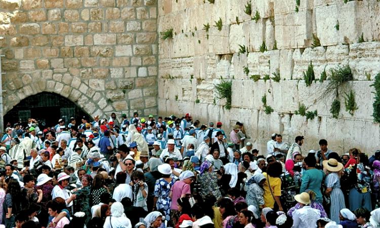 Wailing Wall, Jerusalem © Len Rapoport