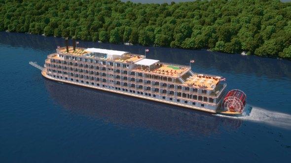 Cruises Custom WordPress Website Design - Usa river cruises