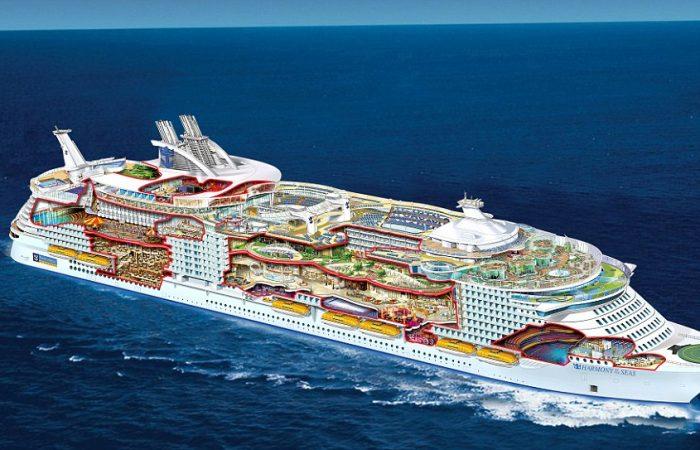 Harmony of Seas Cutaway