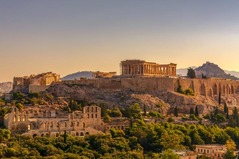 Best places to visit in Greece Number 1 - Acropolis