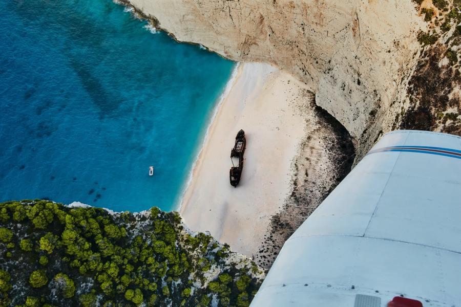 Aerial Photo of Zakynthos Island