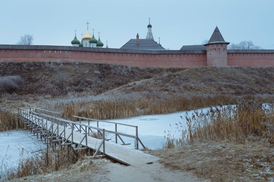 Photo of Suzdal during Winter