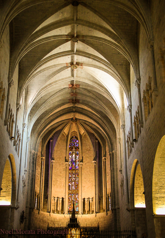 Girona cathedral interior